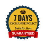 7 Days Exchange Policy